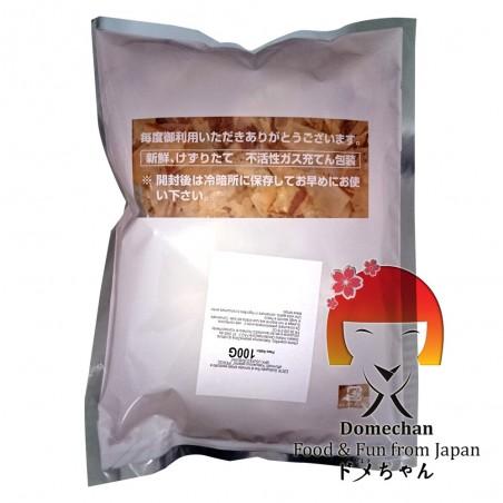 Katsuobushi bonito schnitt mittel (fisch, getrocknet, in flocken) - 100 g Makurazaki RAW-99386358 - www.domechan.com - Japani...