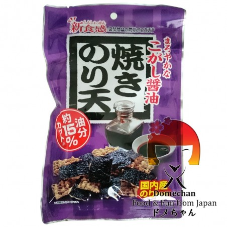 Las papas fritas de algas maltratadas de salsa de soja 50 g Daiko Foods RBY-27375889 - www.domechan.com - Comida japonesa