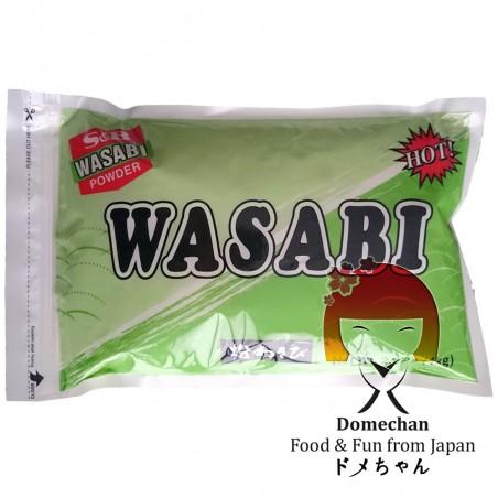 Wasabi powder R-1 - 1 kg S&B RDW-47322657 - www.domechan.com - Japanese Food