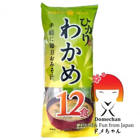 Zuppa di miso shiro 12 porzioni - 216 g Domechan RGY-89886575 - www.domechan.com - Prodotti Alimentari Giapponesi