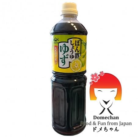 Salsa ponzu yamasa (salsa de soja, el vinagre y el jugo de limón) - 1L Domechan RRD-36272272 - www.domechan.com - Comida japo...