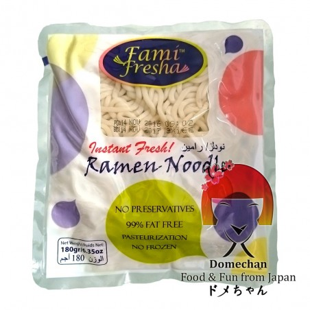 Noodle for ramen - 180 g Shanghai benefisha industrial RVP-85832835 - www.domechan.com - Japanese Food