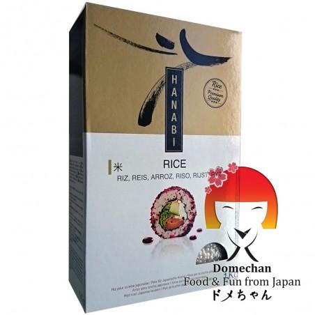 Rice for sushi hanabi - 1 Kg La Gemma RZL-64975644 - www.domechan.com - Japanese Food