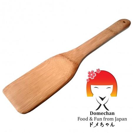 Espátula de madera, de bambú - 40 cm Uniontrade SAW-38942577 - www.domechan.com - Comida japonesa
