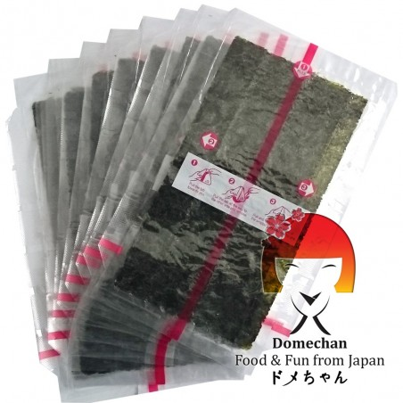 Onigiri contenedor - 10 uds Foodex SAY-73793965 - www.domechan.com - Comida japonesa