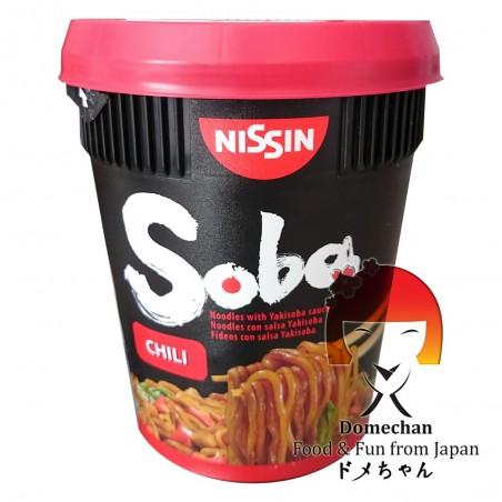 焼きそば日新味唐辛子-92g Nissin SBW-89347779 - www.domechan.com - Nipponshoku