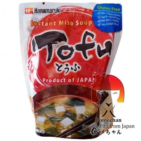 Zuppa di miso con tofu 6 porzioni - 109,2 g Hanamaruki SEY-33358522 - www.domechan.com - Prodotti Alimentari Giapponesi