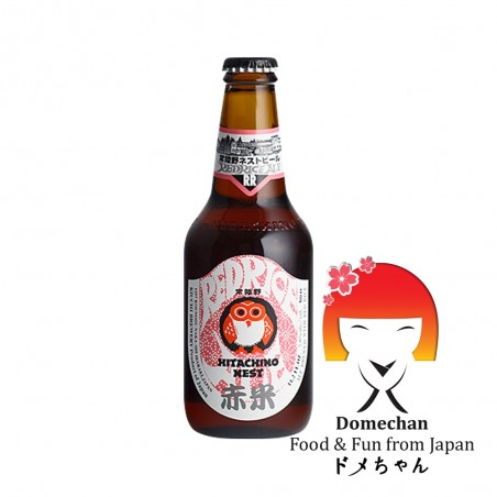 Birra hitachino redrice - 330 ml Asahi SJY-25293239 - www.domechan.com - Prodotti Alimentari Giapponesi