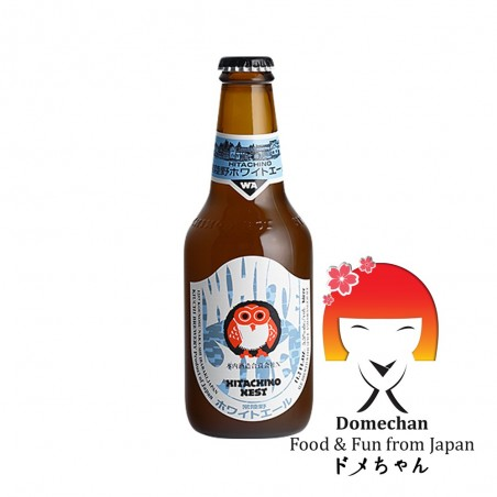 Birra hitachino white ale - 330 ml Asahi SJW-45928774 - www.domechan.com - Prodotti Alimentari Giapponesi