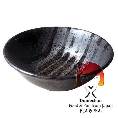 Ciotola in ceramica modello tiger - 20 cm Uniontrade SLW-26834564 - www.domechan.com - Prodotti Alimentari Giapponesi