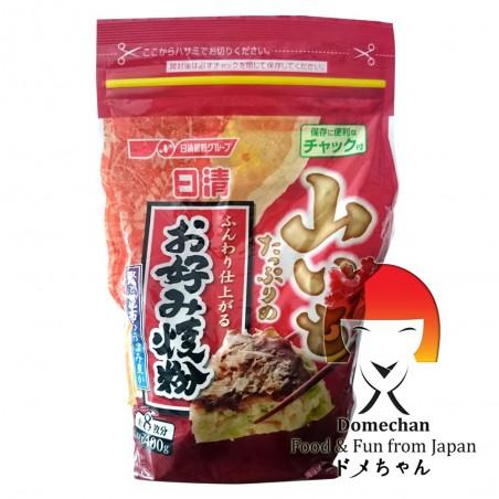 La harina para el okonomiyaki nisshin - 400 gr Nissin SNY-84992382 - www.domechan.com - Comida japonesa