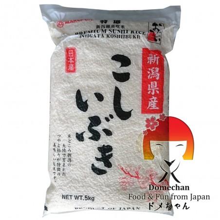 Reis japanisch Koshiibukii - 5 kg Niigata Nosho SQW-47293974 - www.domechan.com - Japanisches Essen