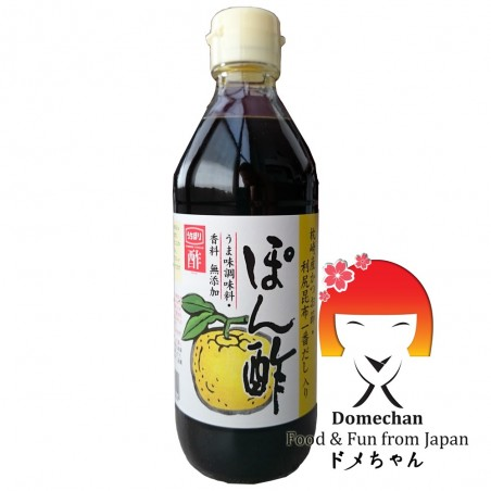 Sauce ponzu (soy sauce and yuzu) - 360 ml Mizkan SRH-74845526 - www.domechan.com - Japanese Food