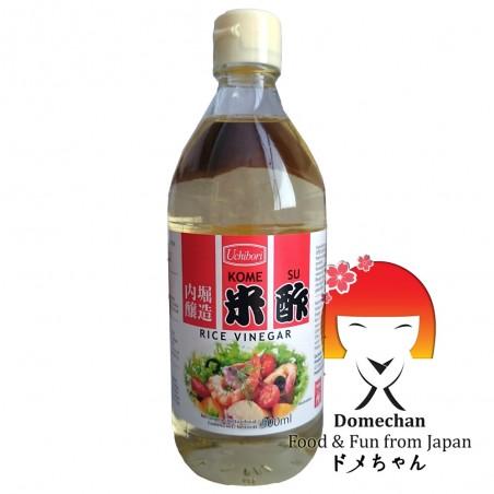 Aceto di riso uchibori kome su - 500 ml Mizkan STX-62368262 - www.domechan.com - Prodotti Alimentari Giapponesi