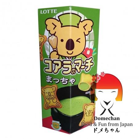 Lotte Koala's March matcha - 37 g Nestle SYY-57532757 - www.domechan.com - Prodotti Alimentari Giapponesi