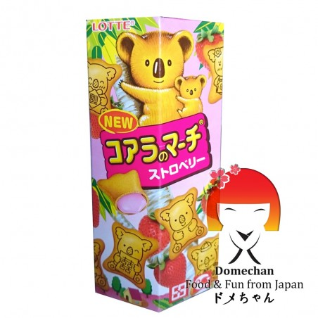 Lotte Koala's biscotti alla fragola - 49 g Nestle TAW-84238938 - www.domechan.com - Prodotti Alimentari Giapponesi