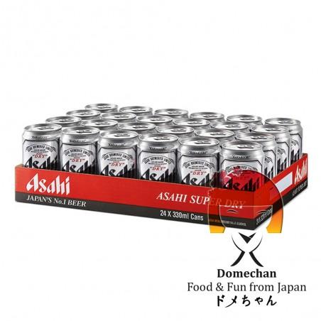 Asahi tin 24 pieces - 330 ml Asahi SMY-38568938 - www.domechan.com - Japanese Food