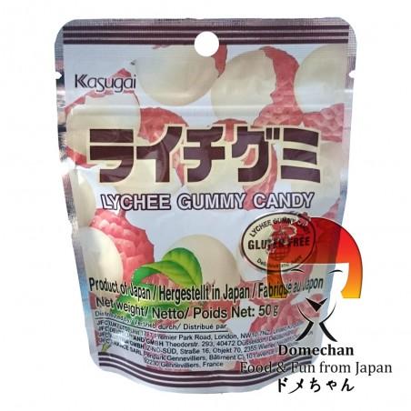 Candy lychee Kasugai - 50 g Kasugai TCY-98835689 - www.domechan.com - Japanese Food
