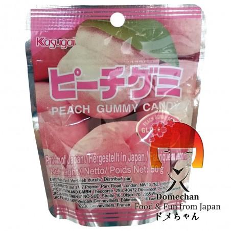 Caramelle alla pesca Kasugai - 50 g Domechan TCW-78675586 - www.domechan.com - Prodotti Alimentari Giapponesi