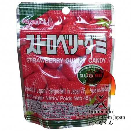 Candy strawberry Kasugai - 45 g Kasugai TDW-48973254 - www.domechan.com - Japanese Food