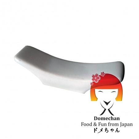 Appoggio per bastoncini-bacchette in ceramica bianco Domechan TNW-72244836 - www.domechan.com - Prodotti Alimentari Giapponesi