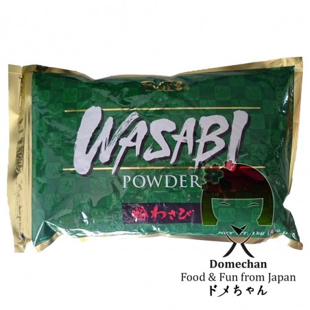 Wasabi in polvere S&B - 1 kg S&B HHT-25546800 - www.domechan.com - Prodotti Alimentari Giapponesi