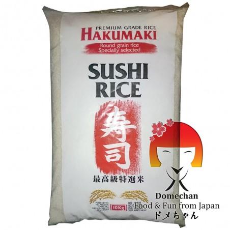 Riso per sushi hakumaki - 10 kg JFC TSW-46324465 - www.domechan.com - Prodotti Alimentari Giapponesi