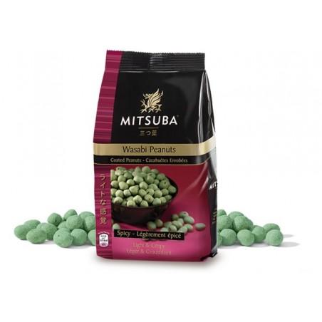 Mitsuba wasabi peanuts - 150 grams Mitsuba TWY-32868968 - www.domechan.com - Japanese Food