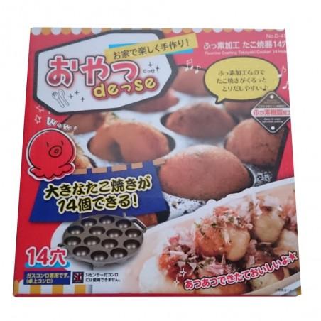 Die pfanne für takoyaki - 14 mulden Domechan EKK-86959007 - www.domechan.com - Japanisches Essen