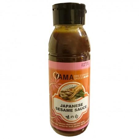 Salsa giapponese per condire al sesamo - 330 ml World-wide co UGY-99424679 - www.domechan.com - Prodotti Alimentari Giapponesi