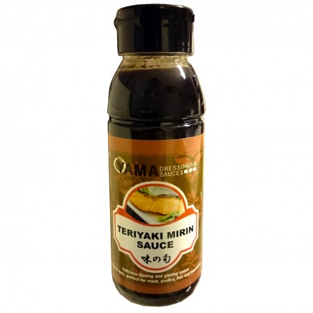 Japanese teriyaki sauce to flavour - 330 ml World-wide co UHW-45433677 - www.domechan.com - Japanese Food