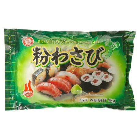 Premium-wasabi pulver - 1 kg World-wide co UJY-65659896 - www.domechan.com - Japanisches Essen