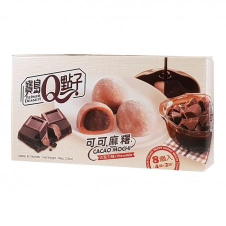 Mochi al cioccolato - 80 gr World-wide co ULW-52783557 - www.domechan.com - Prodotti Alimentari Giapponesi