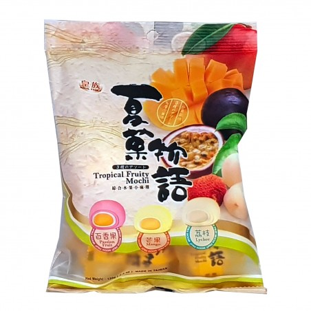 Mochi, tropical fruit - 120 gr Royal Family UMY-32543295 - www.domechan.com - Japanese Food