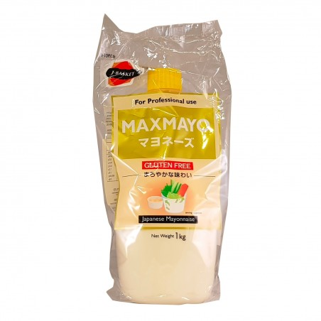 Maxmayo mayonnaise gluten free - 1 kg J-Basket UKY-49479645 - www.domechan.com - Japanese Food