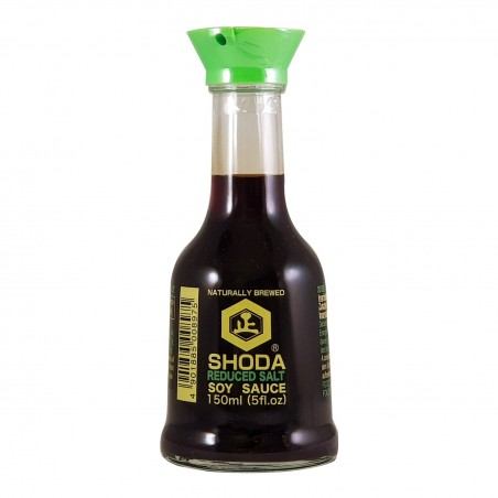 Salsa di soia shoda con ridotto sale - 150 ml Shoda WSW-85538808 - www.domechan.com - Prodotti Alimentari Giapponesi