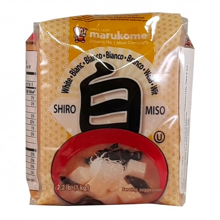 Shiro miso - 1 kg Miyasaka ZEW-87364008 - www.domechan.com - Prodotti Alimentari Giapponesi