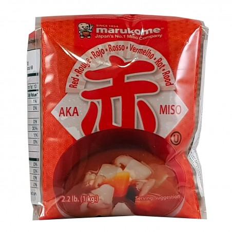 Aka miso - 1 kg Miyasaka ZQH-80034421 - www.domechan.com - Prodotti Alimentari Giapponesi