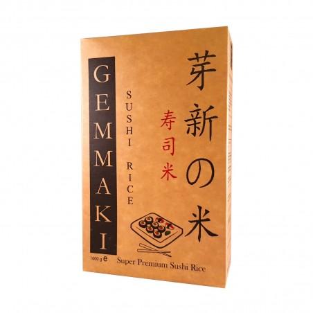 Riso per sushi gemmaki - 1 Kg La Gemma HCW-24878399 - www.domechan.com - Prodotti Alimentari Giapponesi