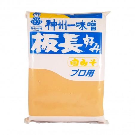 Shiro miso (white miso) - 1 Kg Miyasaka KSW-86559633 - www.domechan.com - Japanese Food