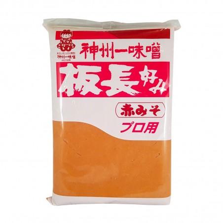 Aka miso (miso rosso) - 1 Kg Miyasaka KSY-34858228 - www.domechan.com - Prodotti Alimentari Giapponesi