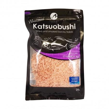 Katsuobushi bonito feinverzahnung (fisch, getrocknet, in flocken) - 20 g Makurazaki TYW-28263734 - www.domechan.com - Japanis...