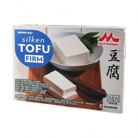Silken solid tofu - 349 g Morinaga JLW-29475578 - www.domechan.com - Japanese Food