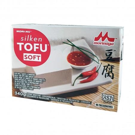 Seidenweicher Tofu - 349 g Morinaga JLY-27942573 - www.domechan.com - Japanisches Essen