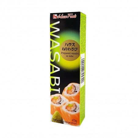 Wasabi Hausrohr - 43 g House Foods KZH-58588685 - www.domechan.com - Japanisches Essen