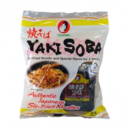 Yakisoba noodle 2 servings - 370 gr Otafuku VCW-68792678 - www.domechan.com - Japanese Food