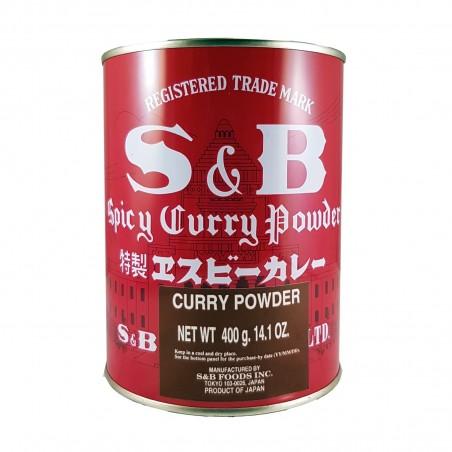 Curry powder spicy - 400 g S&B RJW-69988795 - www.domechan.com - Japanese Food