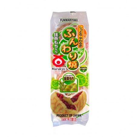Funwariyaki avec thé vert et azuki - 280 gr Marukyo DUY-83842986 - www.domechan.com - Nourriture japonaise