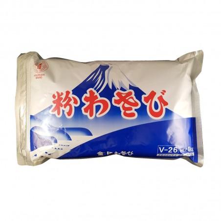 Wasabi in polvere kinjirushi V-26 - 1 Kg Kinjirushi Wasabi EXY-57958500 - www.domechan.com - Prodotti Alimentari Giapponesi