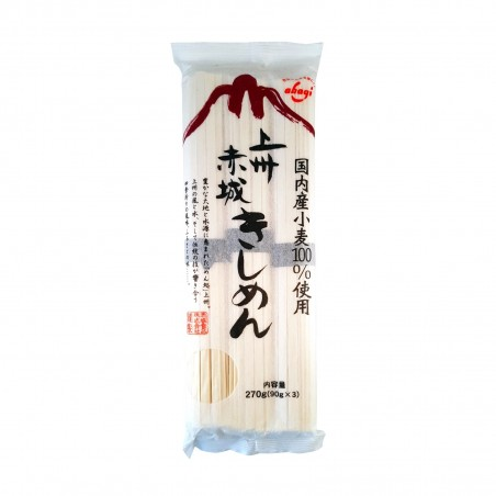 Kishimen noodle - 270 g Akagi EMZ-54588984 - www.domechan.com - Japanese Food